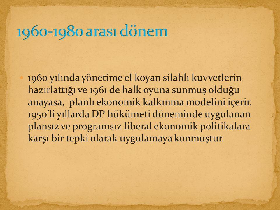 1960-1980 arası dönem