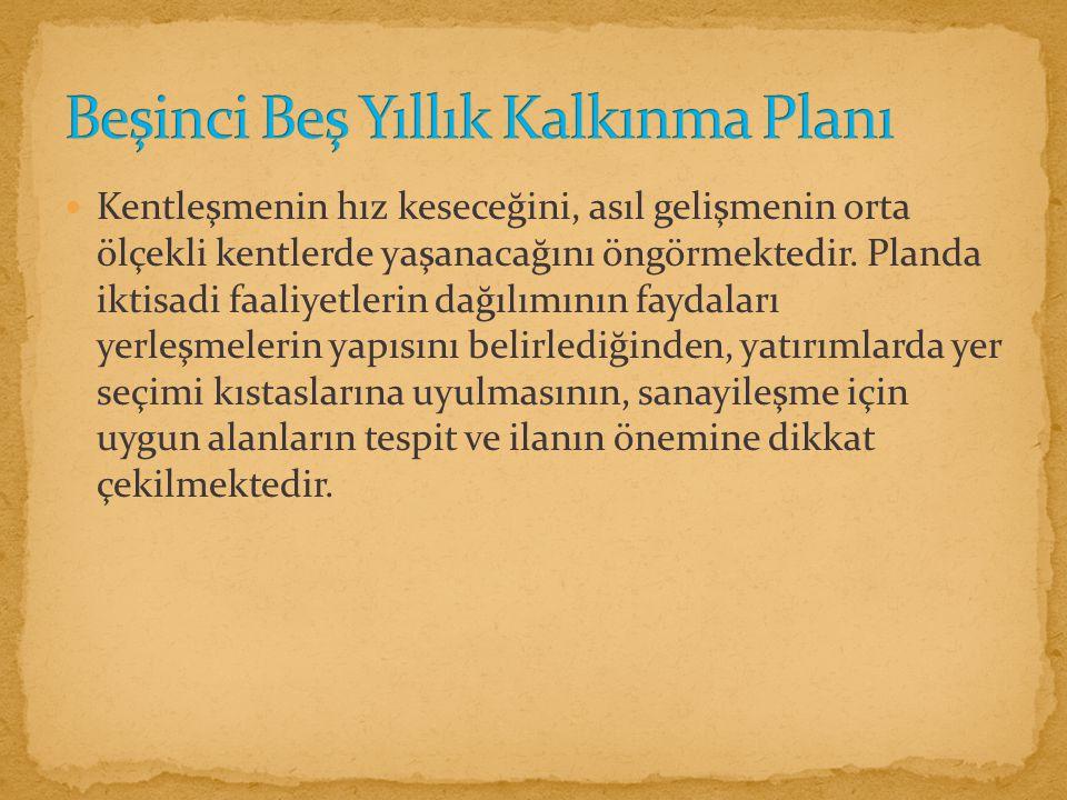 Beşinci Beş Yıllık Kalkınma Planı