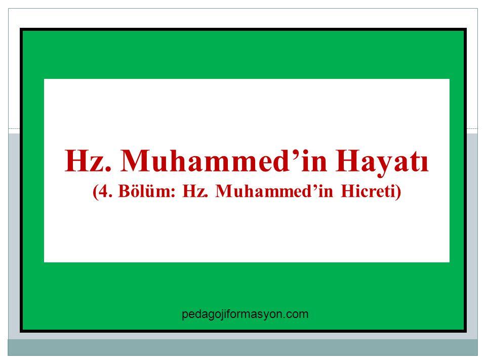(4. Bölüm: Hz. Muhammed'in Hicreti)
