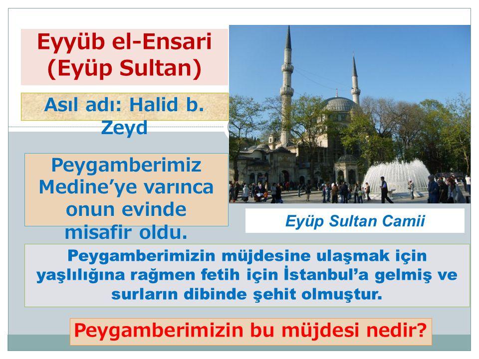 Eyyüb el-Ensari (Eyüp Sultan)