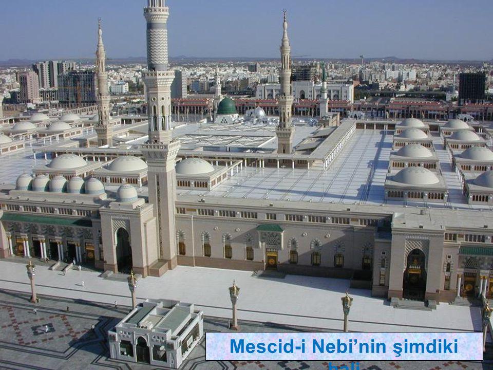 Mescid-i Nebi'nin şimdiki hali