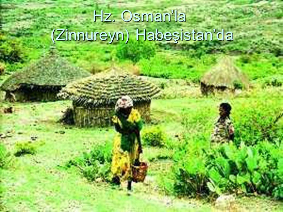 Hz. Osman'la (Zinnureyn) Habeşistan'da