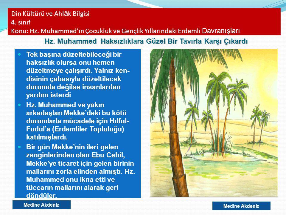 Din Kültürü ve Ahlâk Bilgisi 4. sınıf Konu: Hz