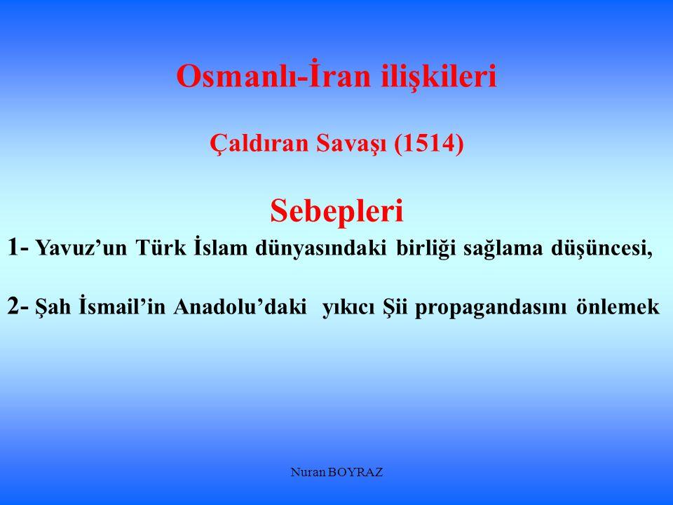 Osmanlı-İran ilişkileri