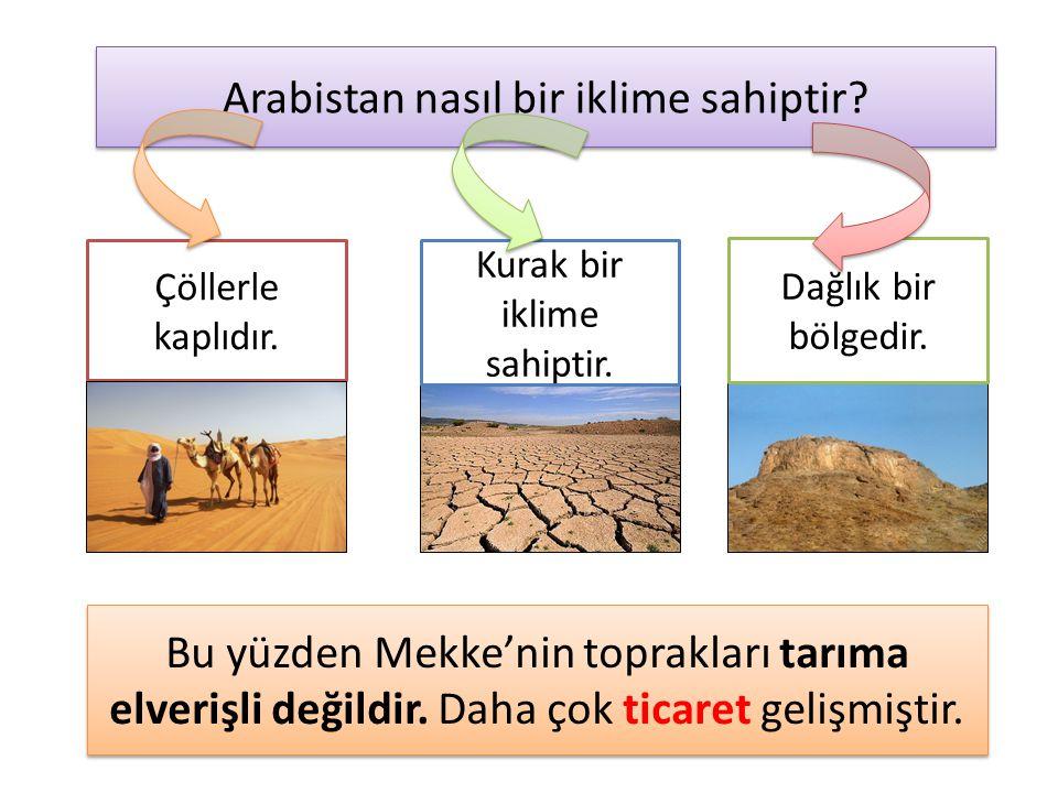 Arabistan nasıl bir iklime sahiptir