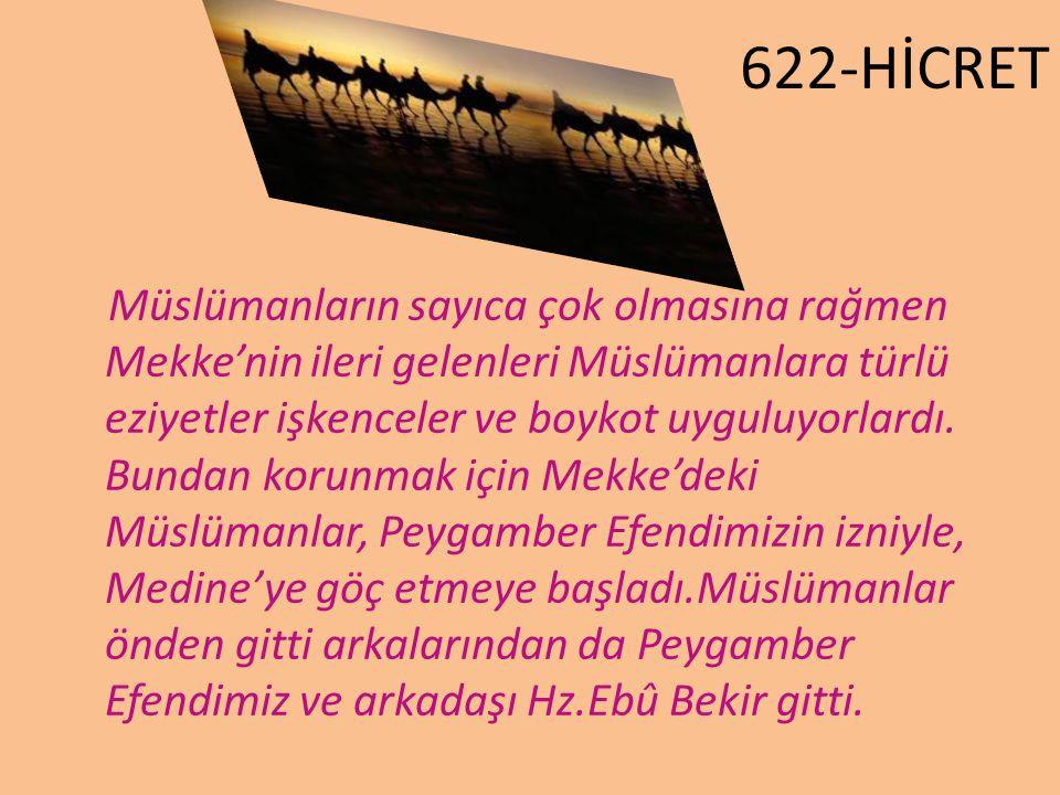 622-HİCRET 622-HİCRET.