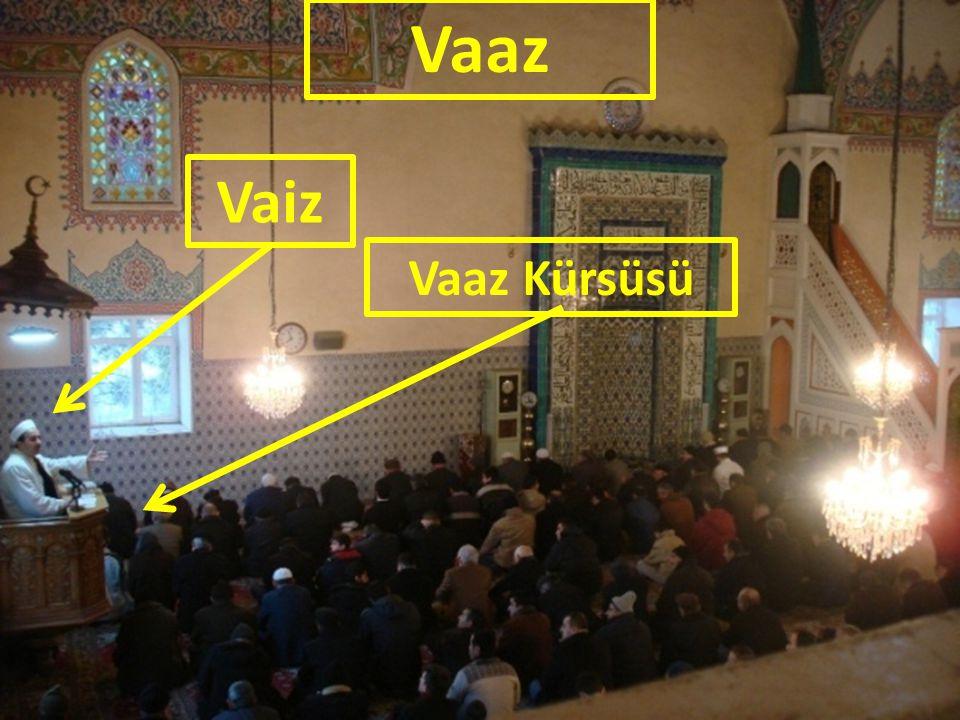Vaaz Vaiz Vaaz Kürsüsü