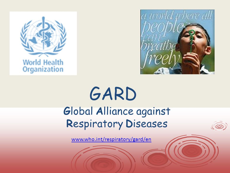 Global Alliance against Respiratory Diseases