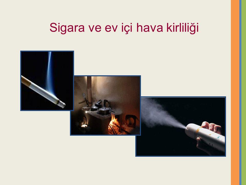Sigara ve ev içi hava kirliliği