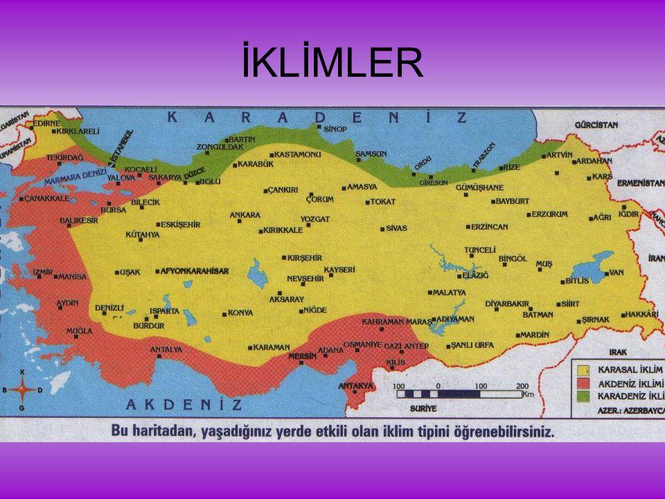 İKLİMLER