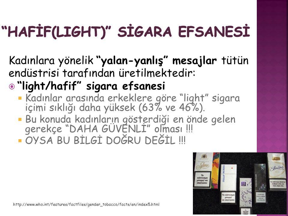 HAFİF(LIGHT) SİGARA EFSANESİ