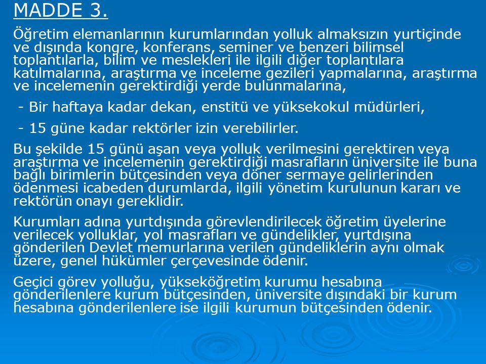 MADDE 3.