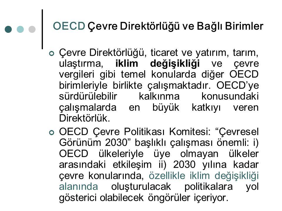 OECD Çevre Direktörlüğü ve Bağlı Birimler