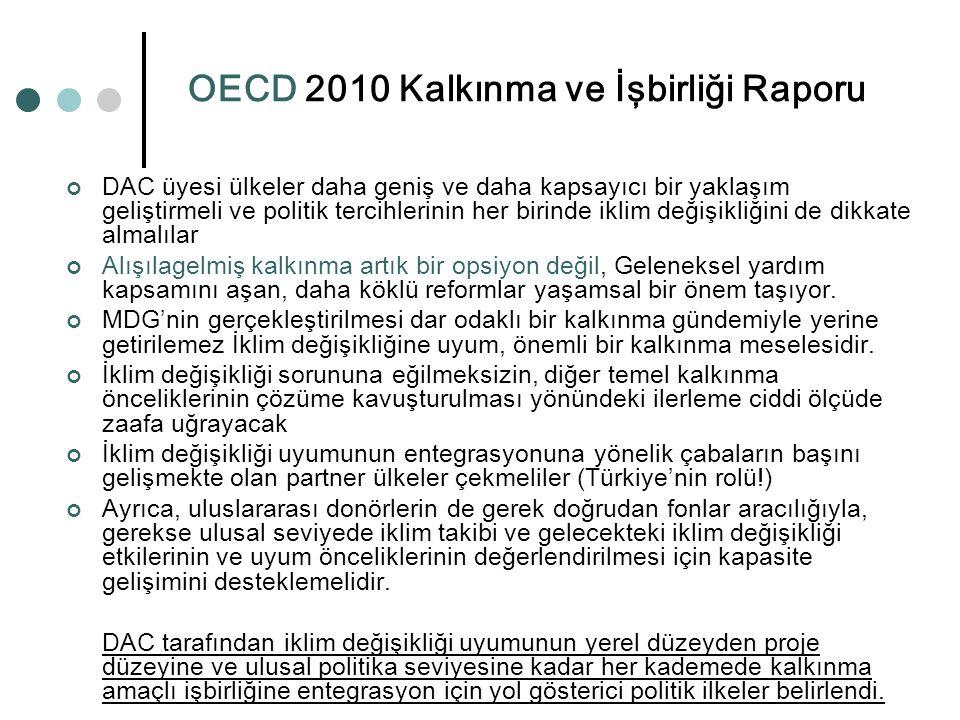 OECD 2010 Kalkınma ve İşbirliği Raporu