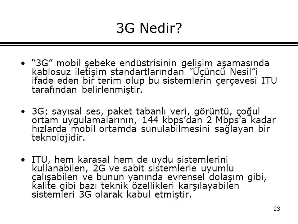 3G Nedir