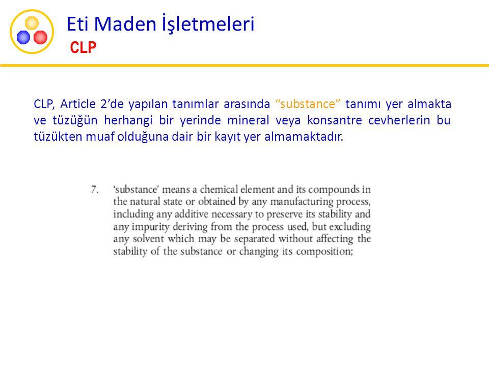 Eti Maden İşletmeleri CLP