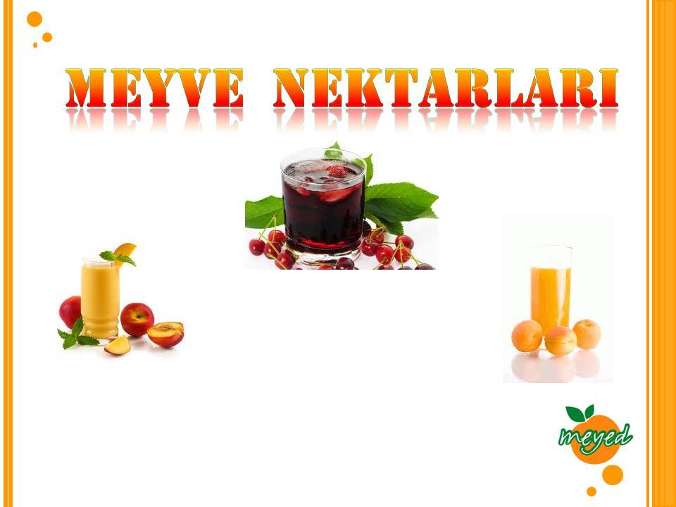 Meyve nektarlarI