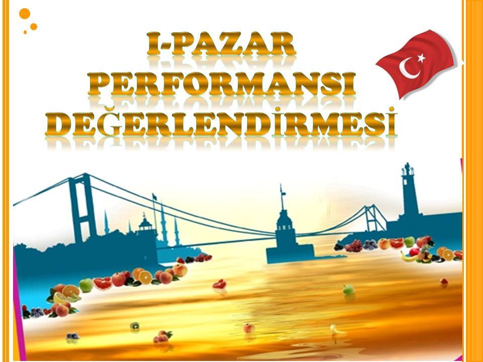I-PAZAR PERFORMANSI DEĞERLENDİRMESİ