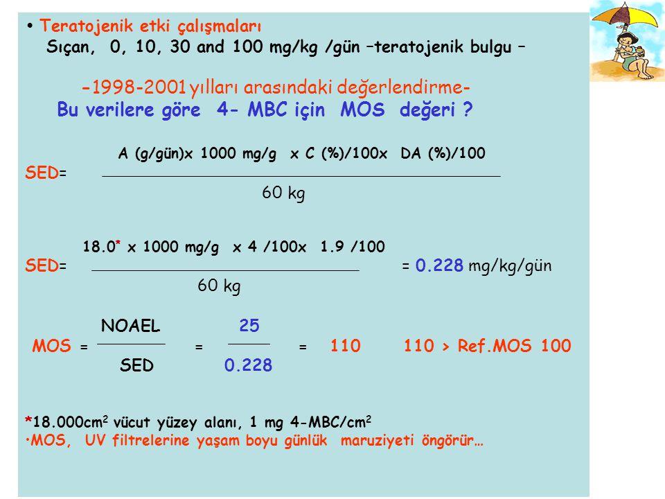 -1998-2001 yılları arasındaki değerlendirme-