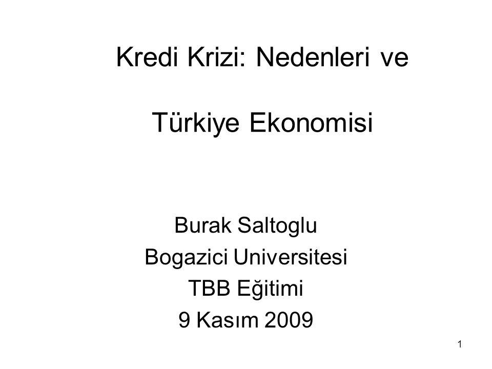 Kredi Krizi: Nedenleri ve Türkiye Ekonomisi
