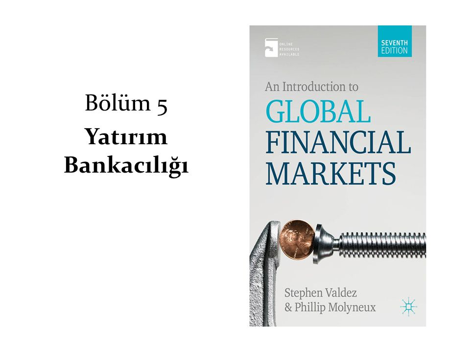 Bölüm 5 Yatırım Bankacılığı