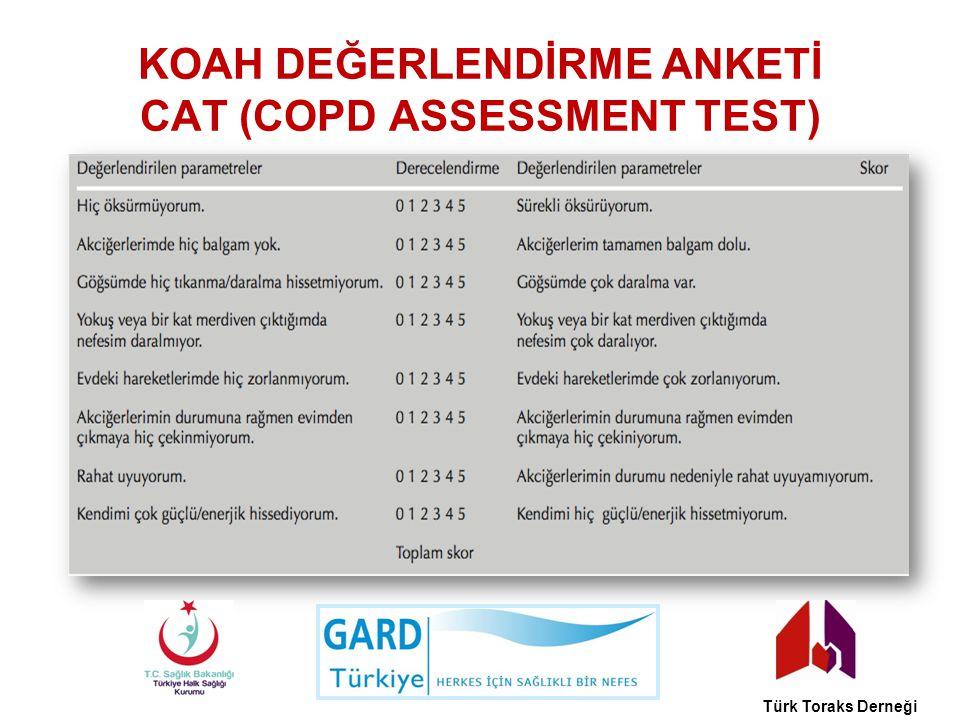 KOAH DEĞERLENDİRME ANKETİ CAT (COPD ASSESSMENT TEST)