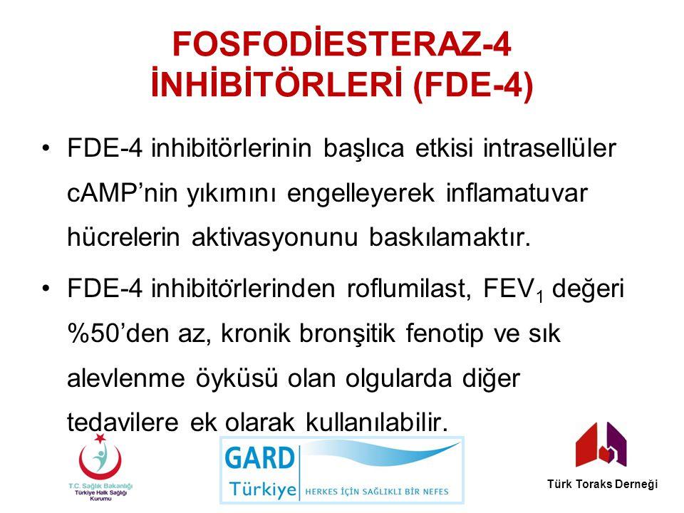 Fosfodİesteraz-4 İnhİbİtörlerİ (FDE-4)