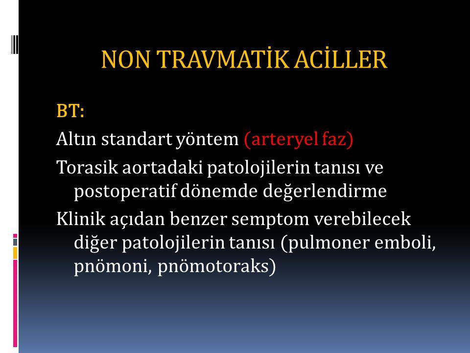 NON TRAVMATİK ACİLLER