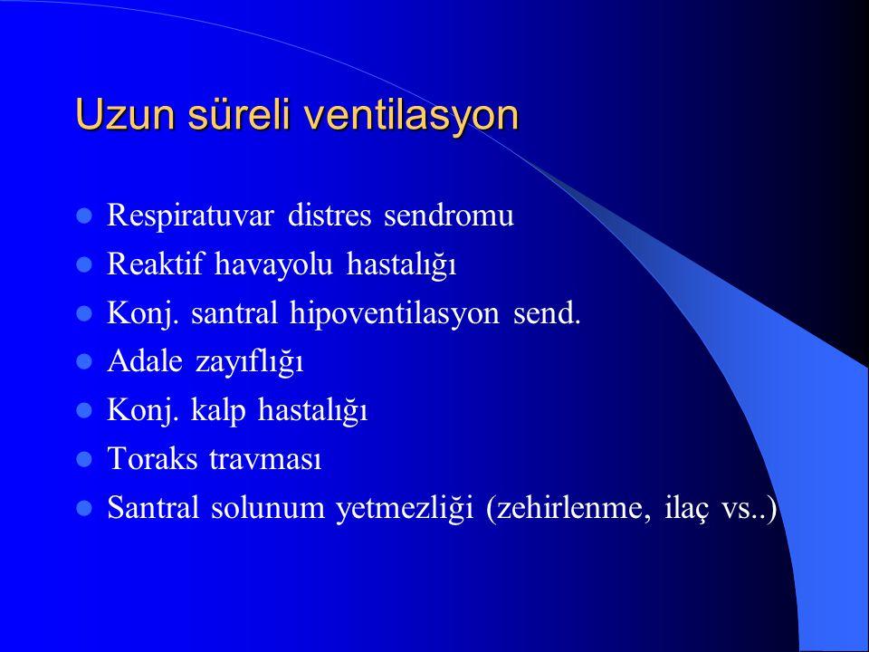 Uzun süreli ventilasyon