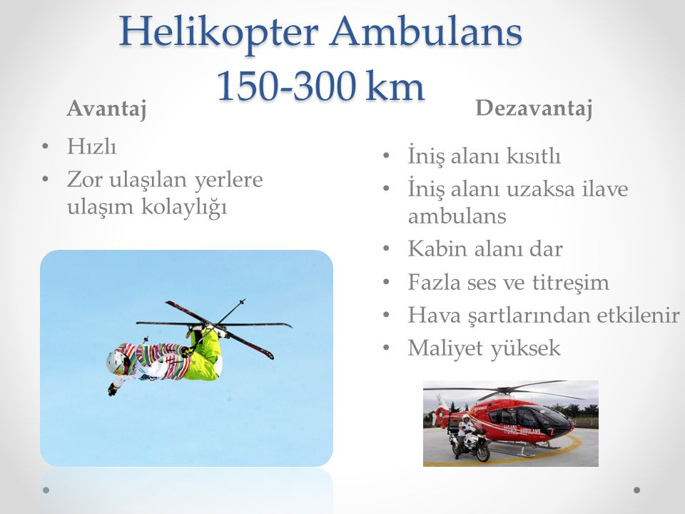 Helikopter Ambulans 150-300 km