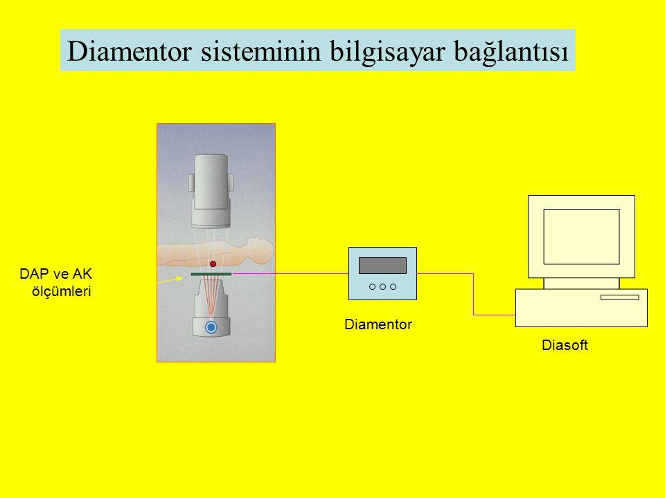 Diamentor sisteminin bilgisayar bağlantısı