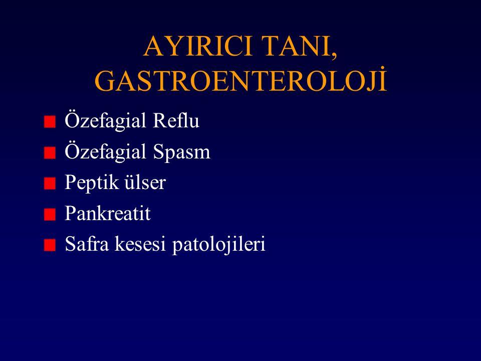 AYIRICI TANI, GASTROENTEROLOJİ