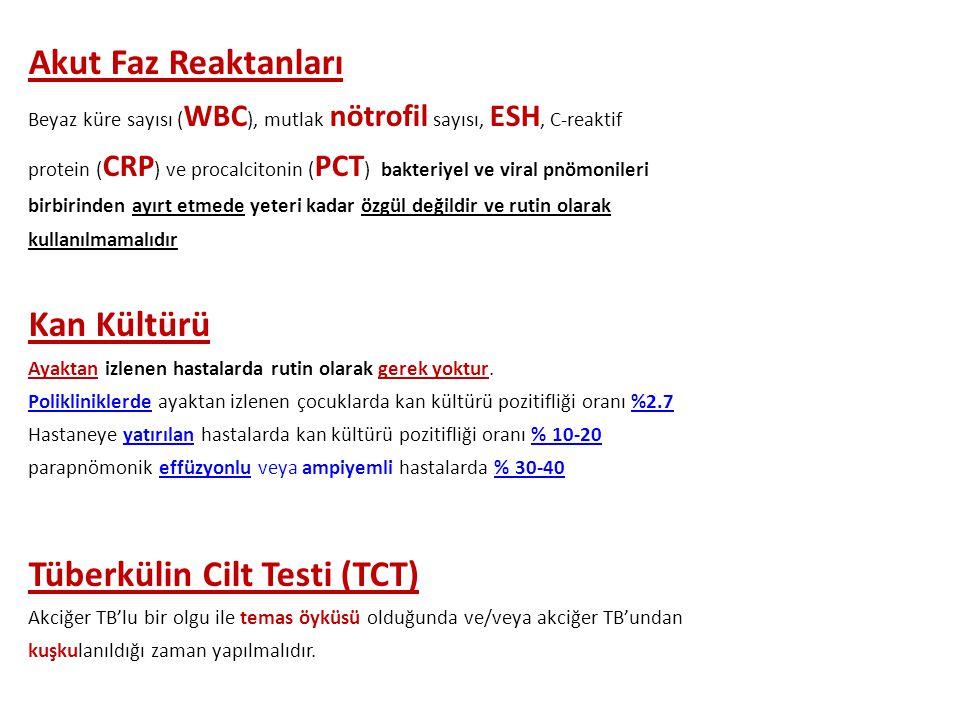 Tüberkülin Cilt Testi (TCT)