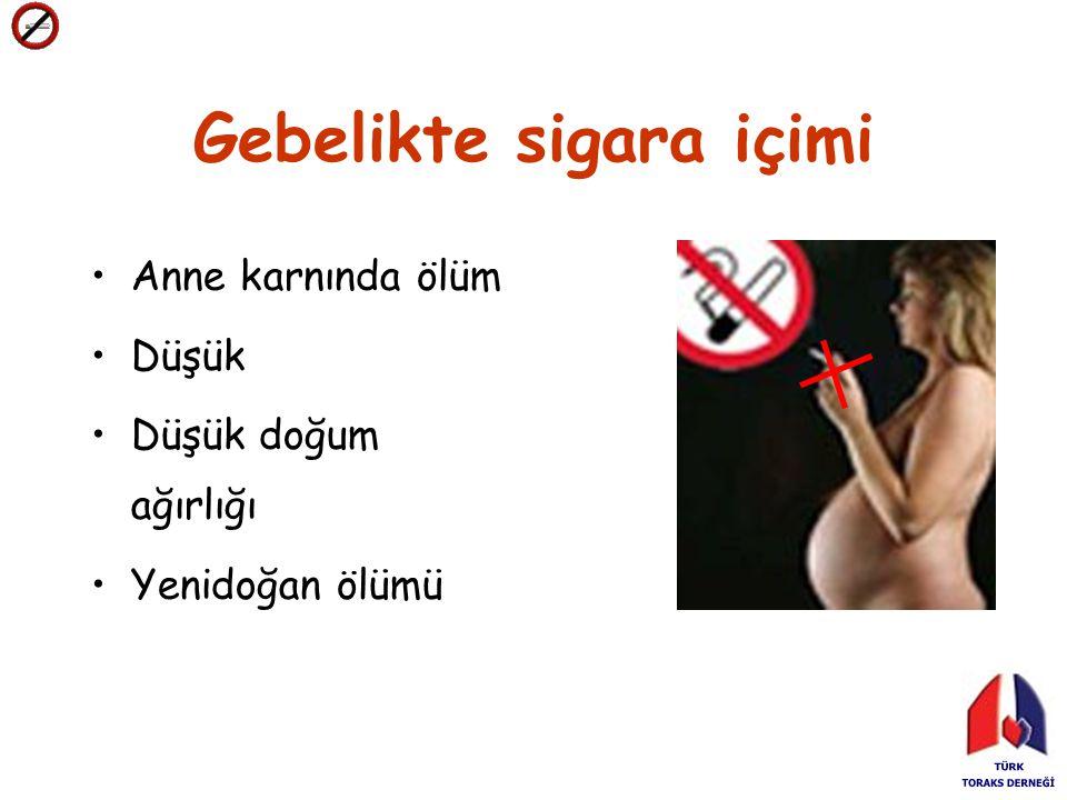 Gebelikte sigara içimi