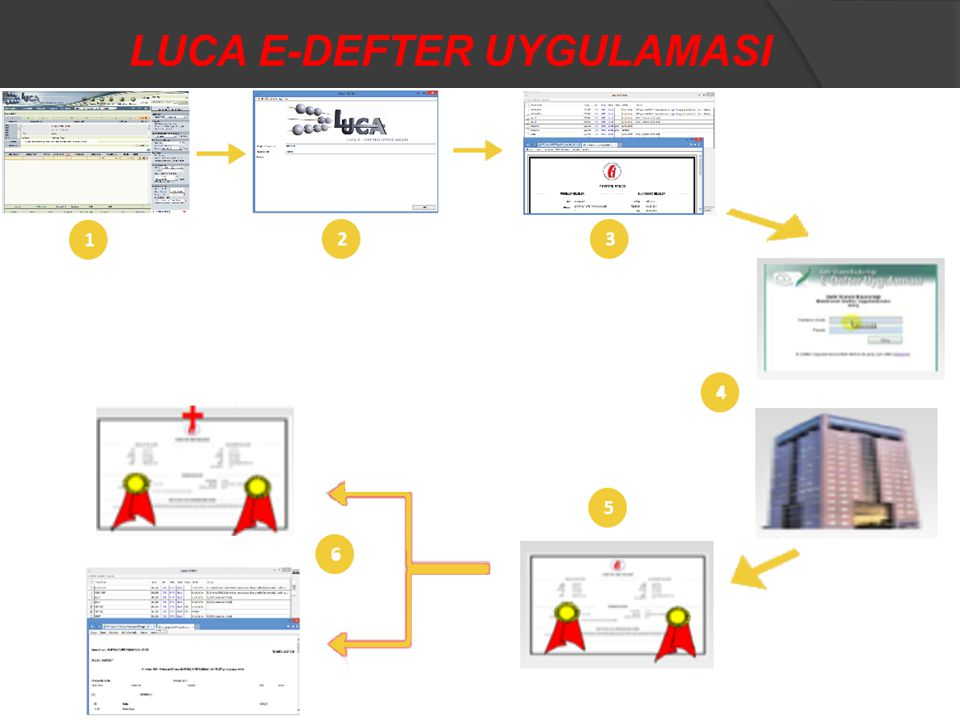 LUCA E-DEFTER UYGULAMASI