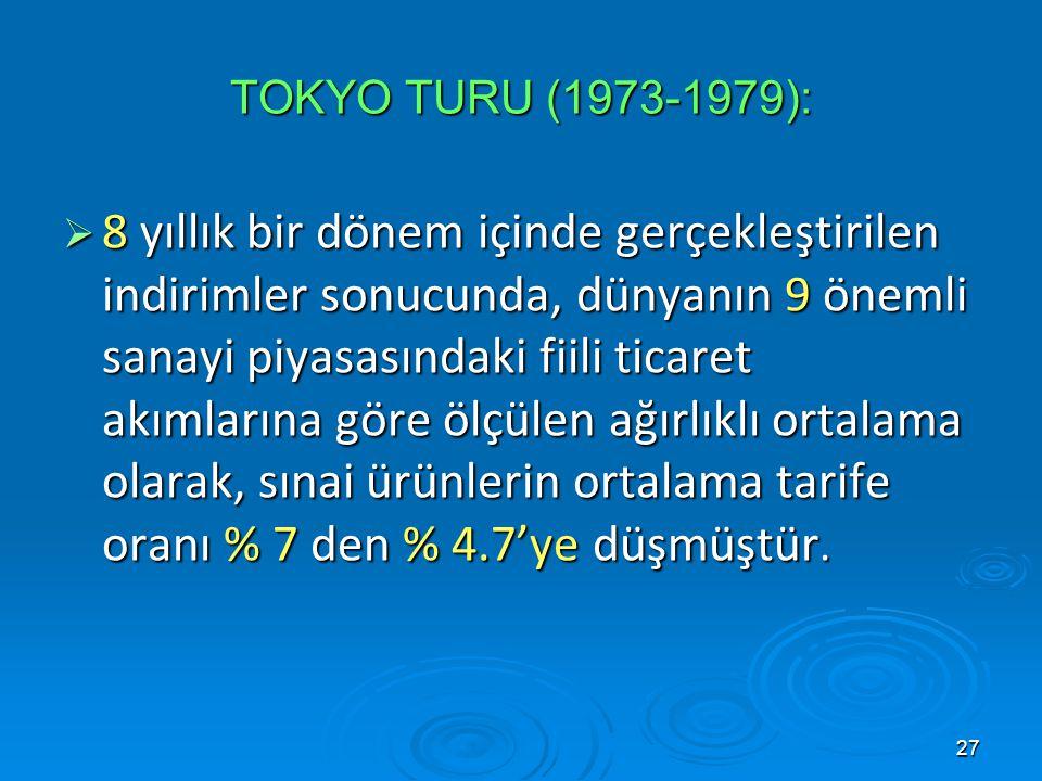 GATT GATT. TOKYO TURU (1973-1979):