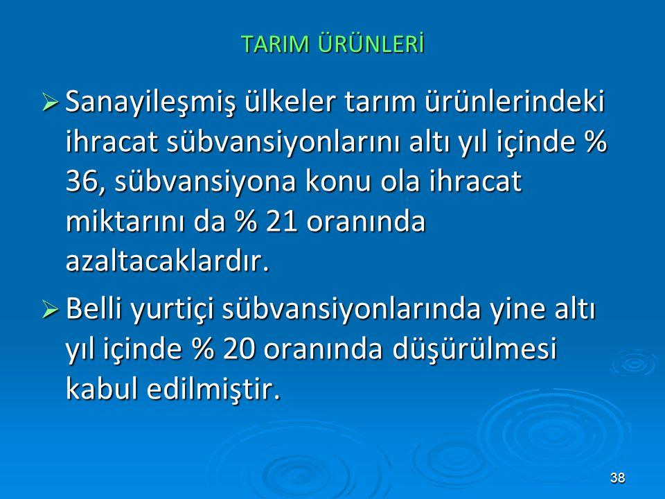 GATT GATT. TARIM ÜRÜNLERİ.