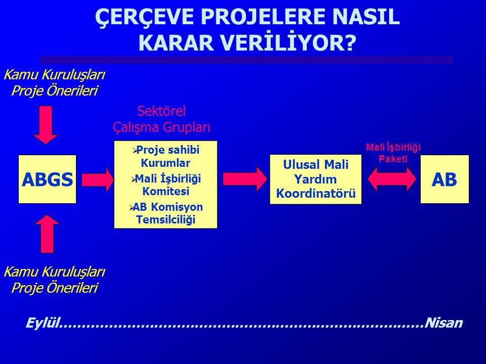 ÇERÇEVE PROJELERE NASIL KARAR VERİLİYOR