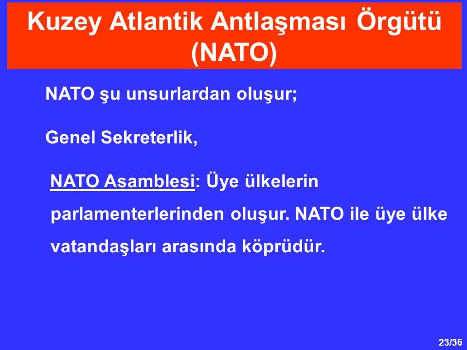 Kuzey Atlantik Antlaşması Örgütü (NATO)