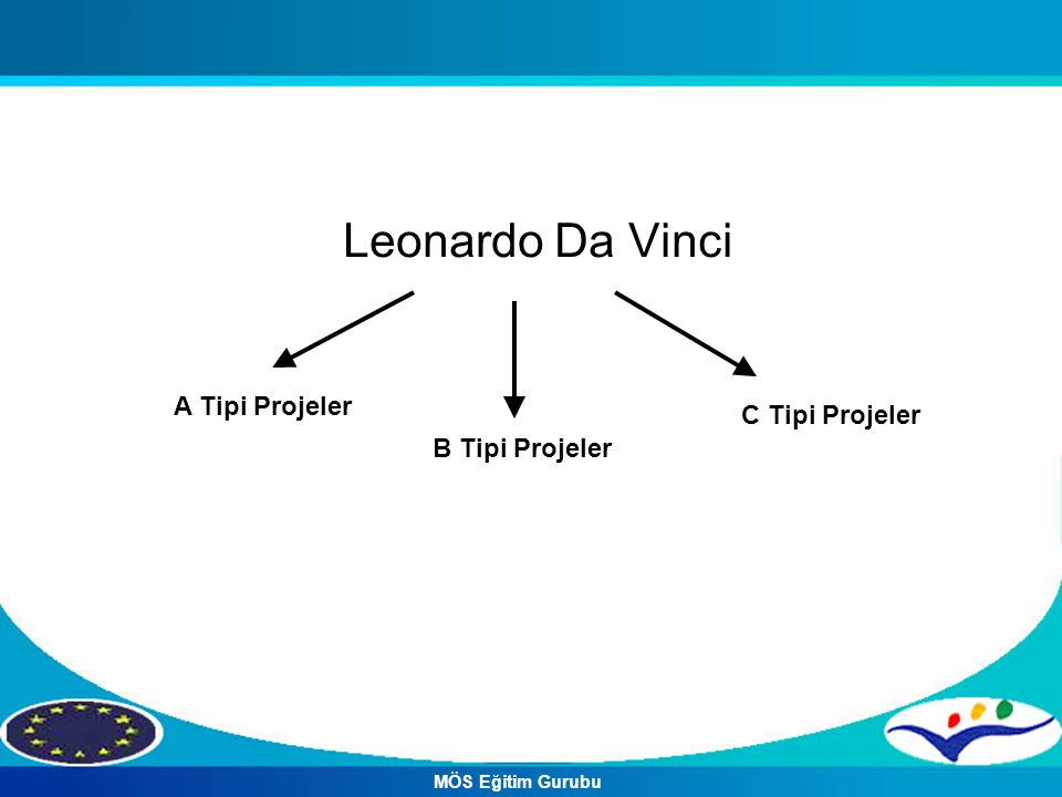 Leonardo Da Vinci A Tipi Projeler C Tipi Projeler B Tipi Projeler
