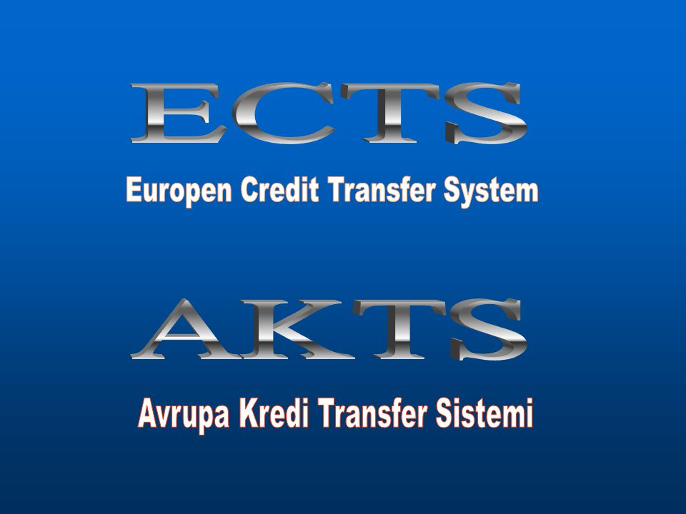 Europen Credit Transfer System