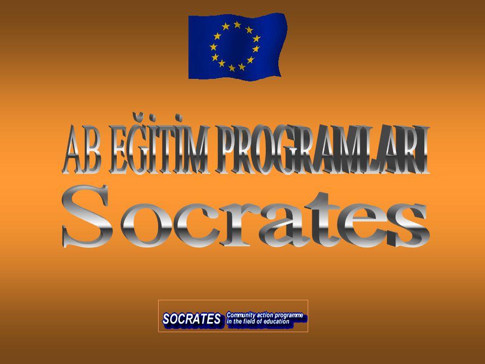 AB EĞİTİM PROGRAMLARI Socrates