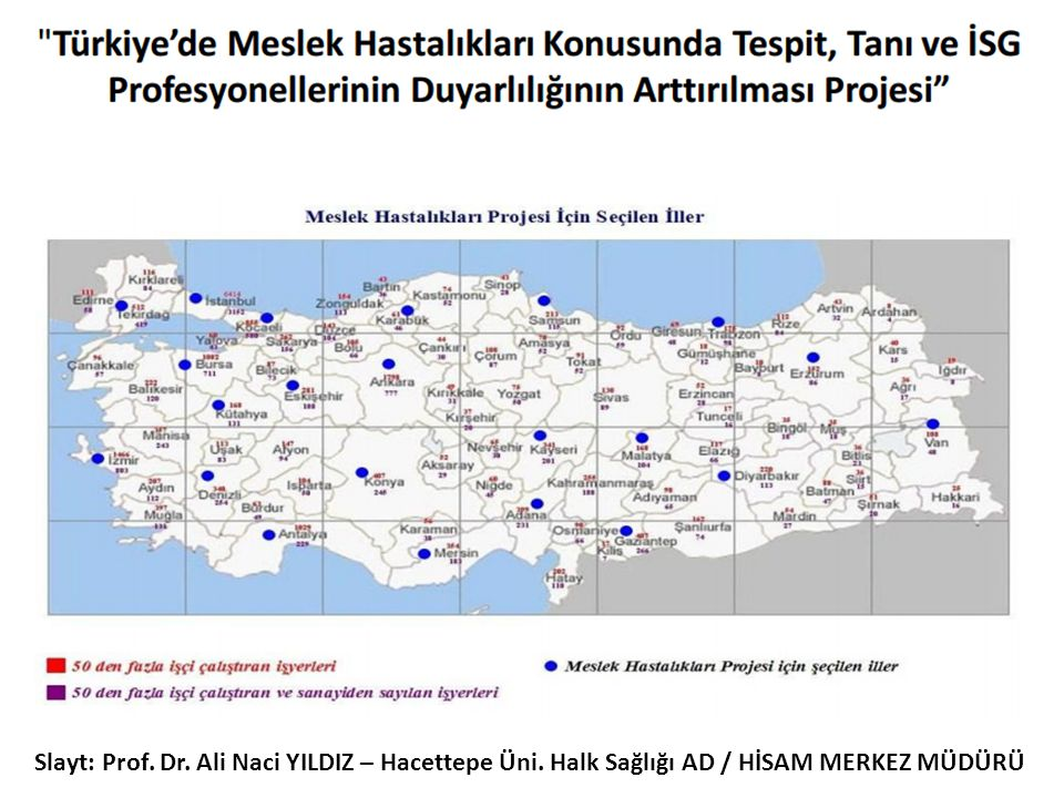 Slayt: Prof. Dr. Ali Naci YILDIZ – Hacettepe Üni