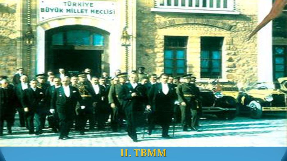 II. TBMM