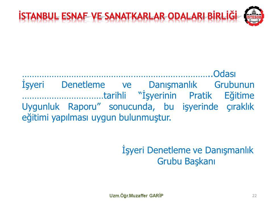 İSTANBUL ESNAF VE SANATKARLAR ODALARI BİRLİĞİ