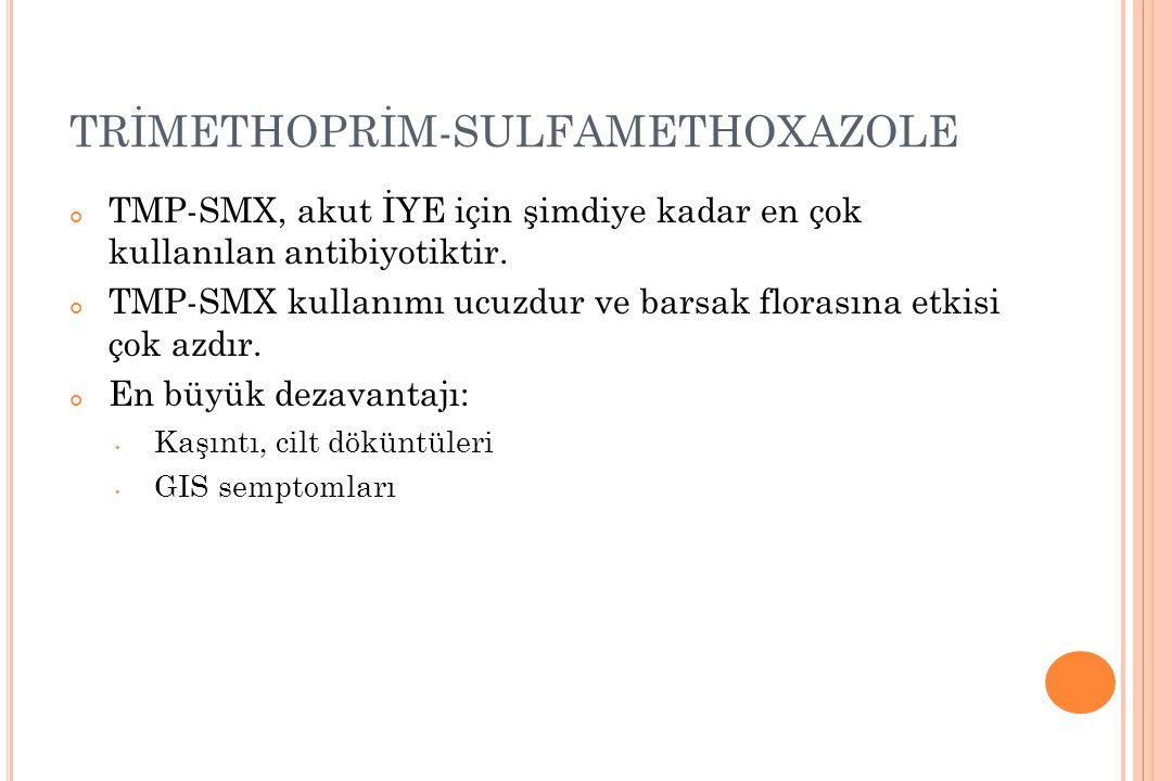 TRİMETHOPRİM-SULFAMETHOXAZOLE