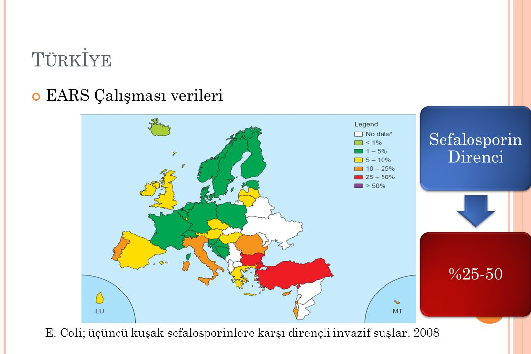 Türkİye EARS Çalışması verileri