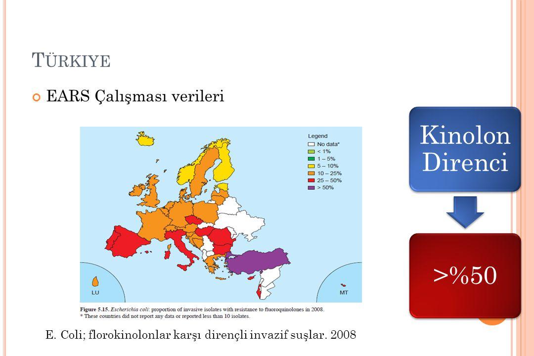 Türkiye EARS Çalışması verileri