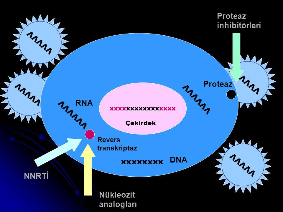 Proteaz inhibitörleri VVVVV VVVVV VVVVVV VVVVV Proteaz VVVVVV RNA
