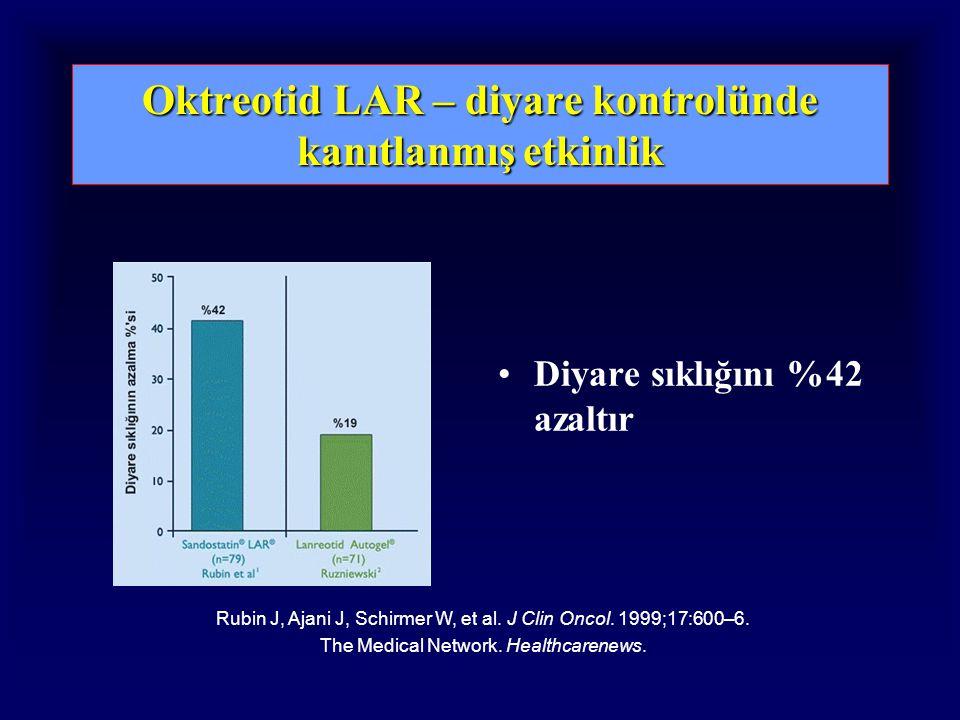 Oktreotid LAR – diyare kontrolünde kanıtlanmış etkinlik